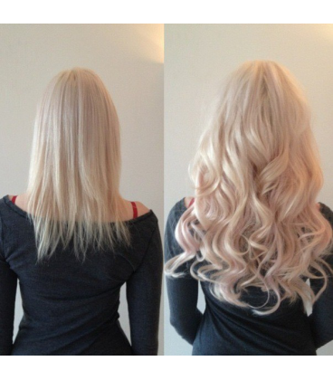 Clip IN - REMY  - BLOND - rovné